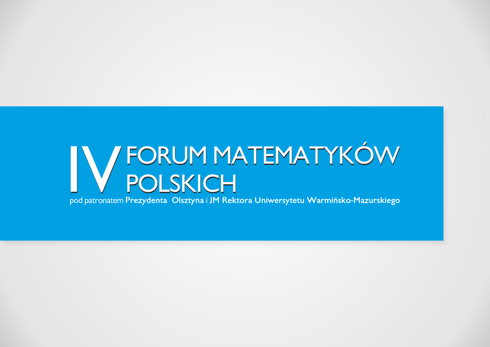 IV Forum Matematyków Polskich